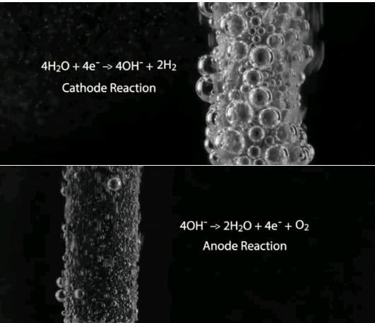 электролиз водных растворов солей