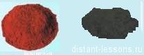 оксид меди 1 и оксид меди 2