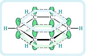 делокализация электронов в иолекуле