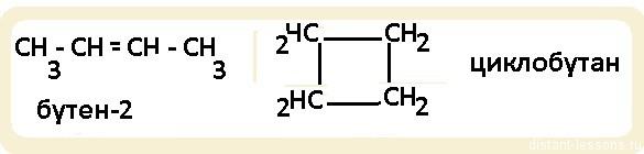 изомерия разных классов