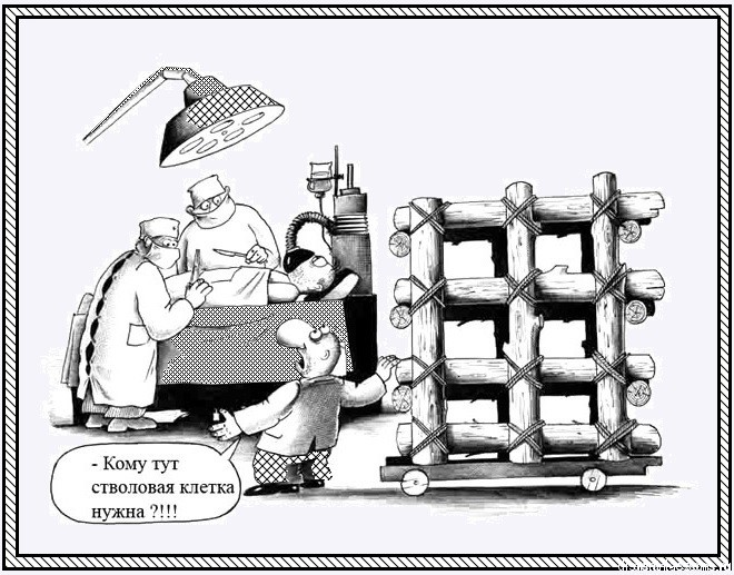 клетка каррикатура