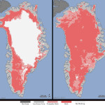 Таяние льда в Гренландии