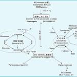 Составить уравнения реакций по схеме превращений